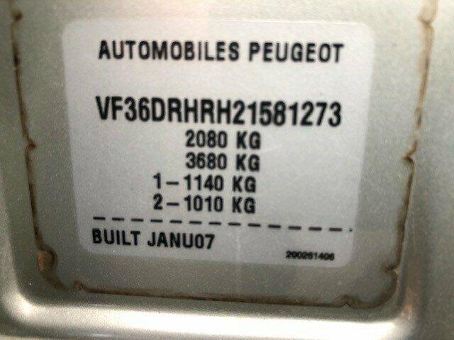 2007 Peugeot 407 SR HDi Sedan