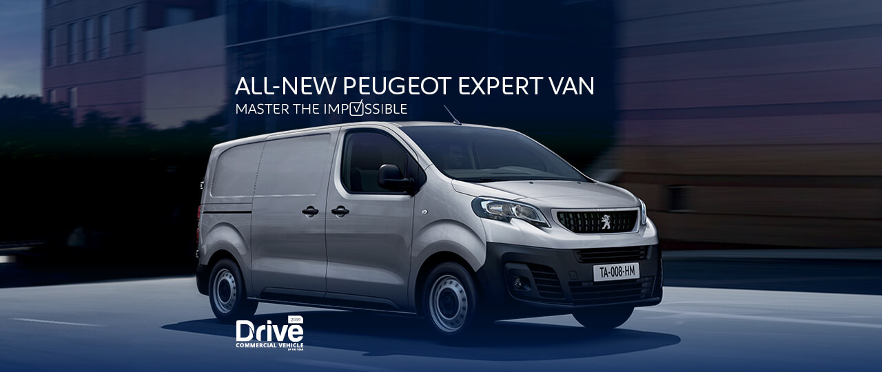 All-New Peugeot Expert Van - Master the impossible